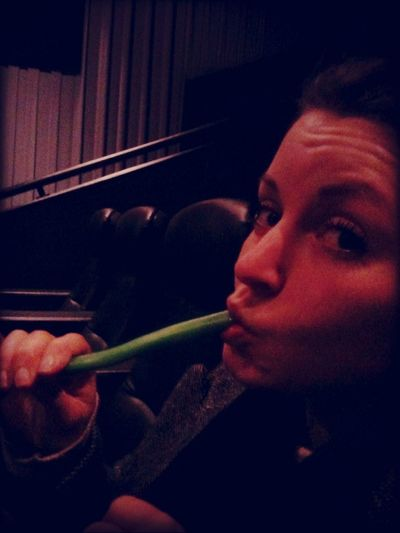 Clare munching her sweets before the film starts at Vue Cinema Leicester Clare Munching Her Sweets Before The Film Starts