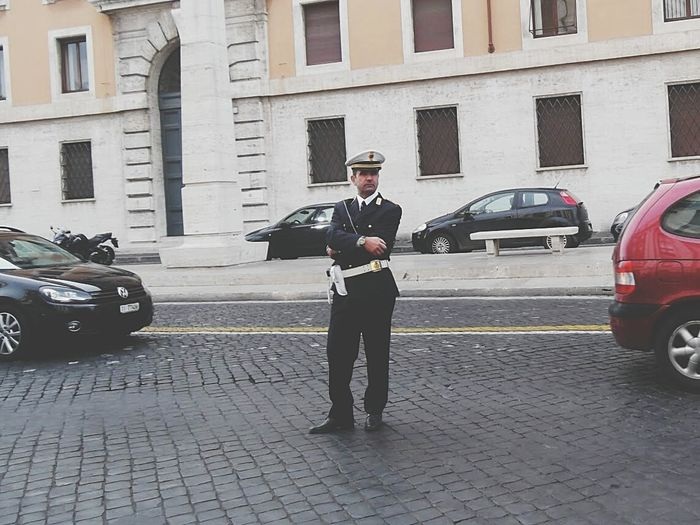 Streetphotography Sexyman Sexypoliceman Policia Police At Work Police EyeEm Italy Italy❤️ Roma Rome The Best From Holiday POV