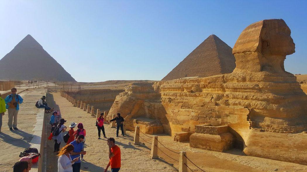 Pyramids Sphinx Cairo Showcase April Travel Enjoying Life Cairo Egypt Popular