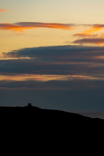 Happy New Year Rame Head Sunset Silhouettes Sunset_collection EyeEm Best Shots - Sunsets + Sunrise Cornwall Astronomy Atmospheric Mood Dramatic Landscape