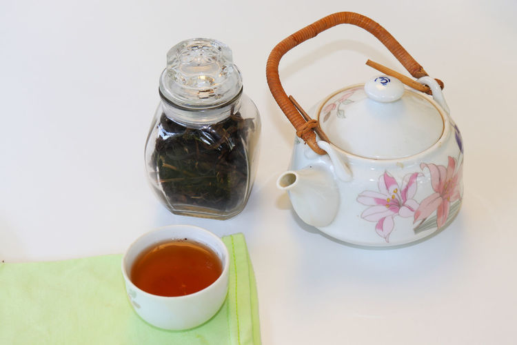 Green tea cups