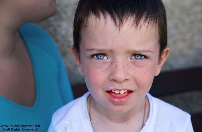 Portrait Ritratto Bambino Bambini  Children Blue Eyes