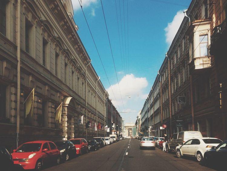 Walking Around Saint Petersburg Beauty In Ordinary Things Vanishing Point Architecture