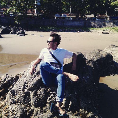Relaxing That's Me Enjoying Life Hello World good morning epribadeh hahahahah Is My Beach
