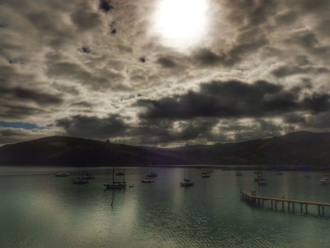 Moody sunset Moody Sky Atmospheric Sky Cloudy Akaroa Harbour New Zealand Clouds & Sky New Zealand Landscape EyeEm Best Shots Eye4photography  Boats Coastal Atmospheric EyeEmBestPics Landscape_Collection EyeEm Best Edits EyeEm Stunning Scenery Stunning Skies Colours Of Nature Lake Soft Focus New Zealand Scenery Nature_collection EyeEm Best Shots - Nature
