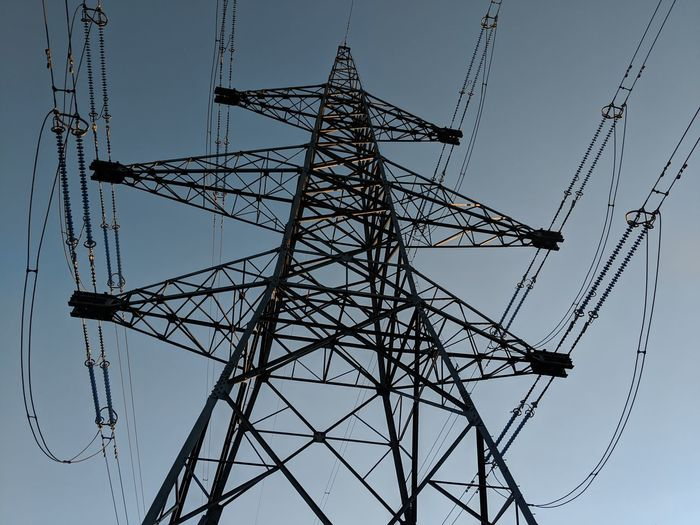 Power Line  Power Supply Energy Plyon Girder Global Communications Technology Electricity Pylon Concentric Industry Symmetry Steel Electricity  Cable Fuel And Power Generation Electricity  Power Cable High Voltage Sign