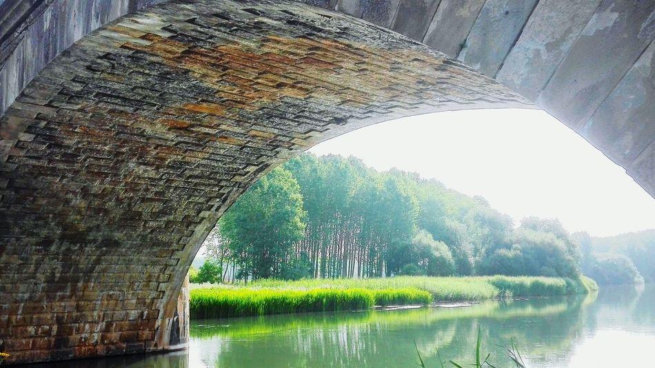 Puente De Piedra Bridge River Reflections Río Pisuerga Vegetacion Reflejos En El Agua Calm River Rock Bridge