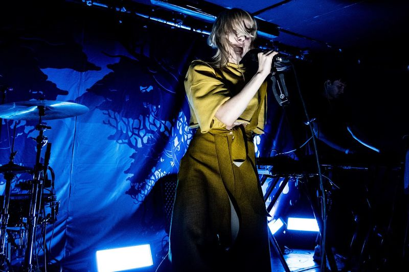 Aurora live in London Arts Culture And Entertainment One Person Performance Music Stage - Performance Space Stage Musician Adult Performing Arts Event Nightlife Artist Night Singer  Musical Instrument My Best Photo