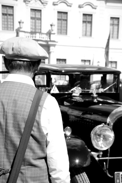 20s Car Admire Adore Black Car Car Show Castle Casual Clothing Classic Car Dandy Focus On Foreground Lifestyles Mein Automoment Olditimer Retro Classics The Drive The Street Photographer - 2017 EyeEm Awards The Portraitist - 2017 EyeEm Awards Blackandwhite Photography Bnw The Great Outdoors - 2017 EyeEm Awards