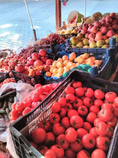 Manav Food And Drink Abundance Large Group Of Objects Freshness Food For Sale Healthy Eating Variation Retail  Fruit Choice Market Red Market Stall Close-up Arrangement Collection Water Day Outdoors First Eyeem Photo Hello World Kütahyalı Hello EyeEm