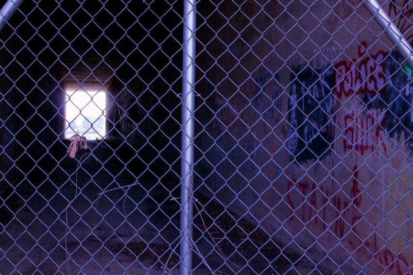 ColumbiaSC Graffiti Tunnel City Urban Day Outdoors Architecture Close-up No People Prison