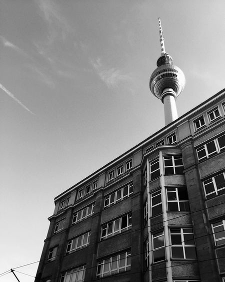 Berlin Tvtower Fernsehturm Blackandwhite Schwarzweiß Mitte Ostberlin The Week Of Eyeem The Architect - 2016 EyeEm Awards Architecture Architecture_bw