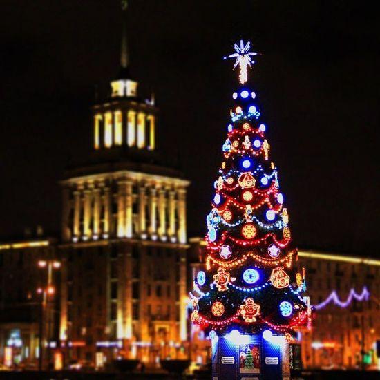 Пускай хотя бы в инстаграме у меня будет новогоднее настроение. впонедельникэкзаменмазафака Spb паркпобеды HNY night garland nice winter bright