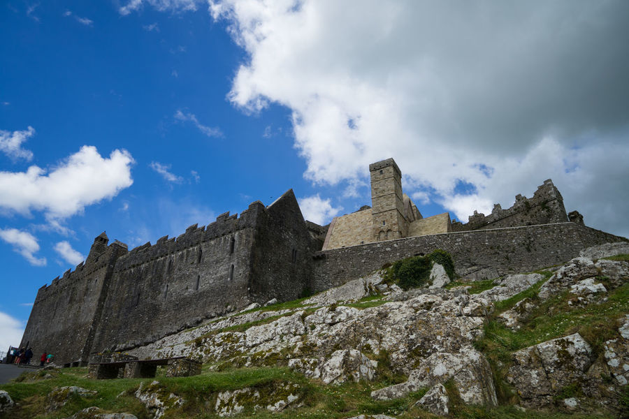 Ancient Civilization Architecture Beauty In Nature Cloud - Sky Cork Day History Ireland Low Angle View Mountain Nature No People Outdoors Rock - Object Rock Of Cashel Scenics Sky Travel Destinations