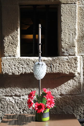 Laguardia details restaurant No People Photography No Filter, No Edit, Just Photography Vasque Country Basque Country Relaxing Photo Flower Calmness Flowers, Nature And Beauty Flowers_collection Window Window Frame Hanging Close-up