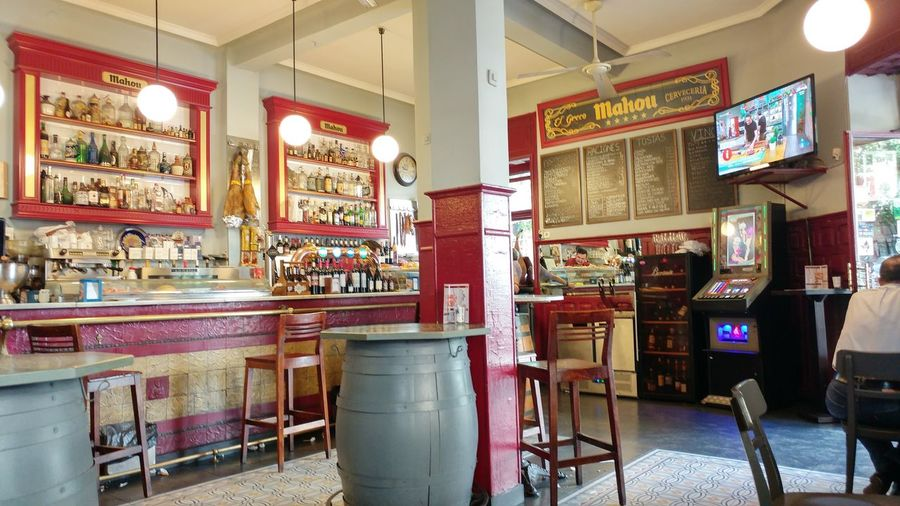 Architecture Indoors  Bar - Drink Establishment Food And Drink Oldbuilding Architectural Column History