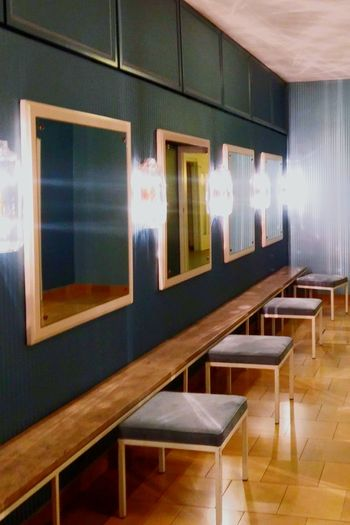 Indoors  Illuminated No People Bright Electric Light Staatsoper Munich, Germany Toilettenraum Ladys Only Interior Interior Design Mid Century