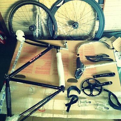 My bike Kazane Fixie Pisto Bicycle simpleisthebest