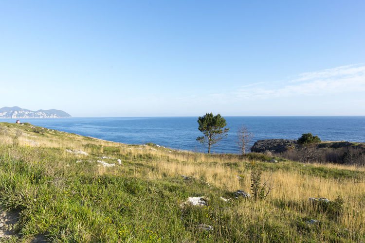 Cantabria Coast Landscape Mountain Nature Ocean Sea Sonabia Water