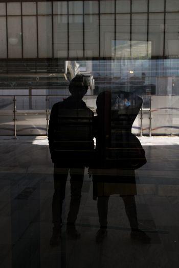 Reflection Glass Reflection EyeEmNewHere City Life City Human Figure Urban Silhouette The Street Photographer - 2018 EyeEm Awards The Traveler - 2018 EyeEm Awards