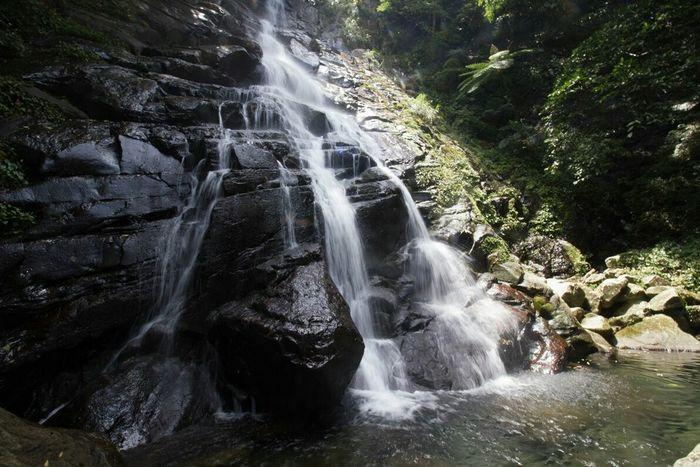 Qingshan Waterfall 瀑布 YangMingShan Taiwan July 2015 Road Trip The Purist (no Edit, No Filter)