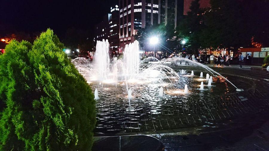 Hello World Beautiful View Sapporo Hokkaido Japan Odori Park First Eyeem Photo