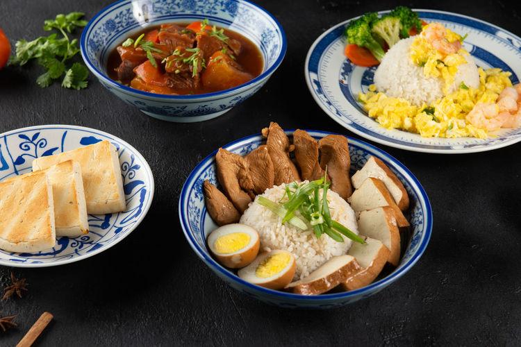 various asian