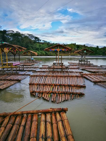 Bambooraft Riverscape Naturelovers Nature Photograhy