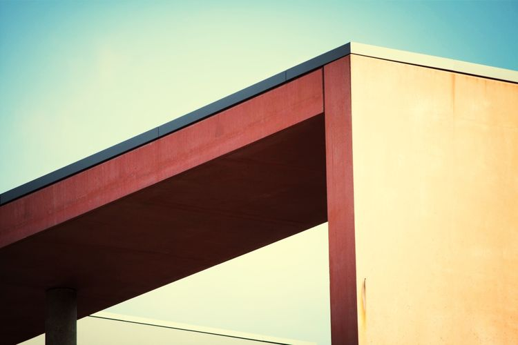 Modern Architecture and Urban Geometry in a Graphic composition.