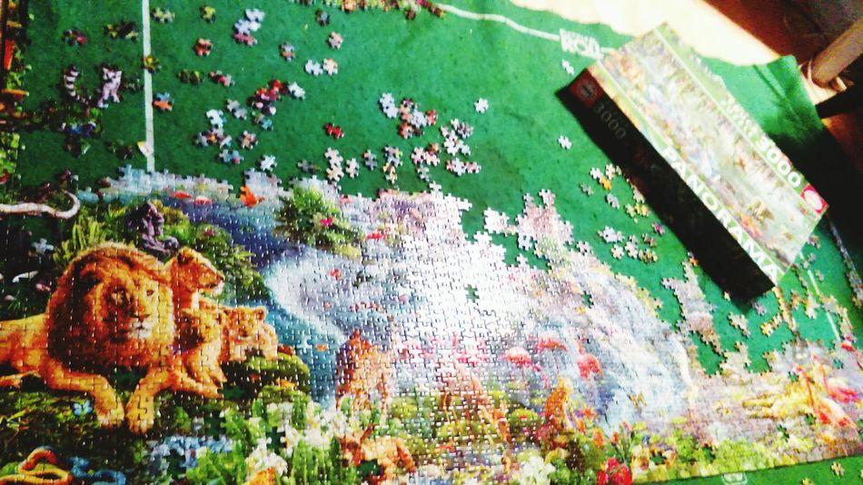 Puzzle Time!!!! Sun ☀ Canicule ☀ Puzzle 3000 Pieces Panorama J En Voix Pas La Fin!! Where Is The End? Psyco Delire! Outdoors Caliente
