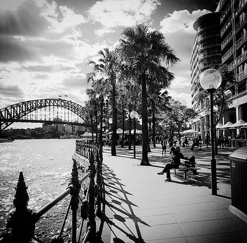 Sydney, Australia SydneyHarbourBridge Blackandwhitephotography Shades Of Grey Bridge Opera House Daytrip