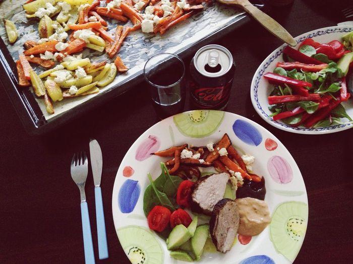 Dinner Sweden Food Summer Vegtables