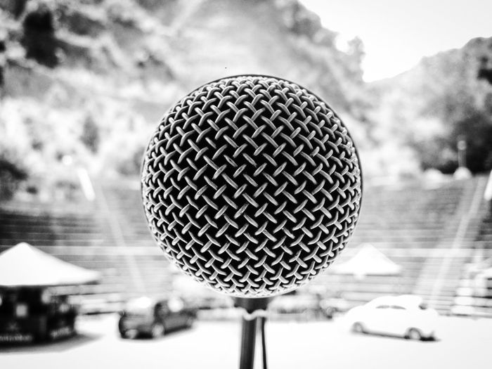 Amphitheatre Auditorium Band Concert Electronic Electronic Music Electronic Music Shots Festival Frontman Live Music Mic Michrophone Stand Microphone Music Performance Performer  Producer Rock Shure Stage First Eyeem Photo