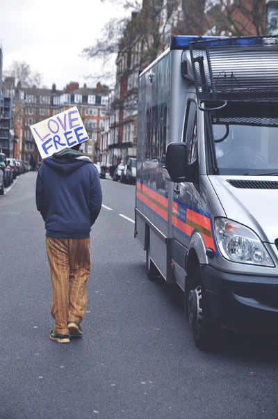 Notting Hill Gate, London | IG: iDJPhotography City City Life City Street Day Demonstration Land Vehicle London Love Mode Of Transport Outdoors People Photo Photography Photojournalism Photooftheday Picoftheday Police Police Van Protest Road Street Street Photography Streetphotography Walking