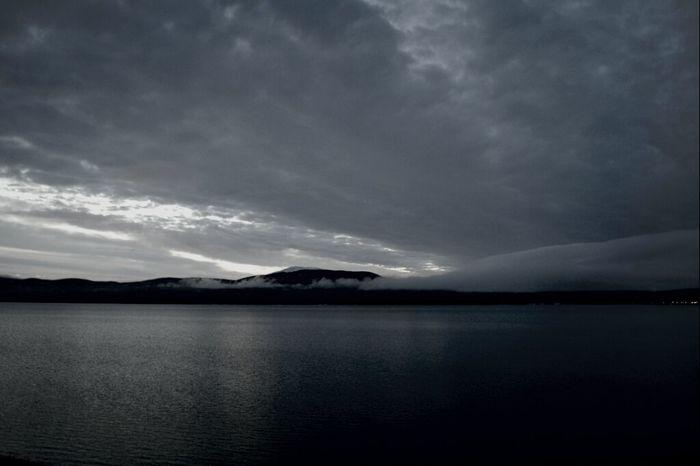 Fagnano lake.. rain coming. Cloudporn Skyporn Water_collection My Bipolar World