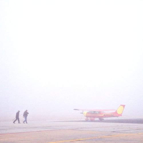 Foggy Morning At The Airport #FREIHEITBERLIN