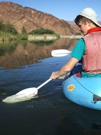 Orange River Namibia Outdoors Nature Adventure Rowing Beautiful Nature