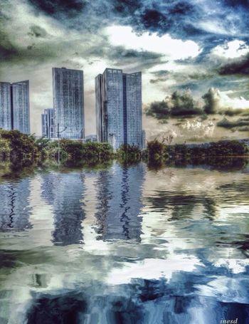 EyeEm Best Shots Sky And Clouds Urban Landscape My Edit EyeEm Best Edits Water Reflections