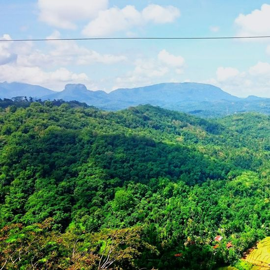 View of Bible Rock from Kadugannawa Worldthroughmyeyes Xperiaz2 Kandy SriLanka Trainjourney