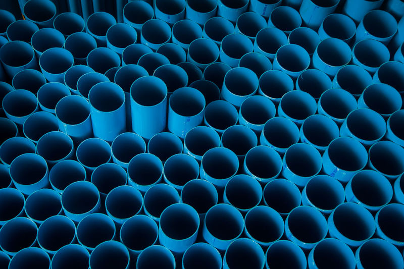 PVC pipes stacked in warehouse ,water Background Background Texture Backgrounds Close-up Day Full Frame Industrial No People Outdoors Pattern Pvc Pvc Pipe Textures And Surfaces Wallpaper