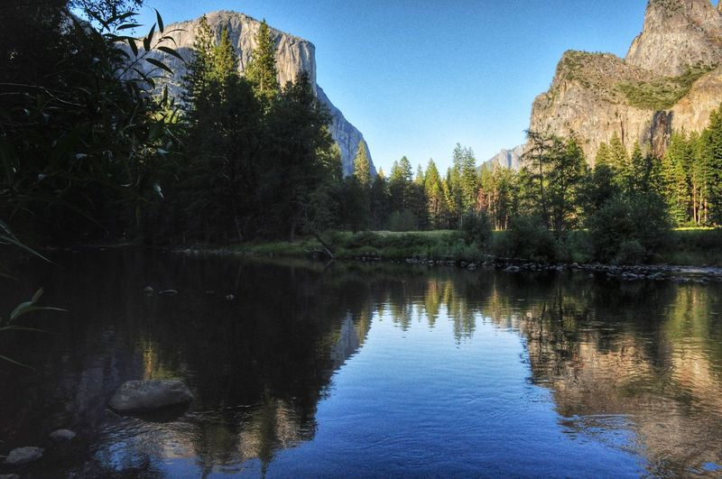 This may be my fav pic from my visit yesterday to Yosemite National Park EyeEm Nature Lover Stream_collection Water_collection Water Reflections Hdr_Collection EyeEm Best Edits EyeEm Best Shots Malephotographerofthemonth