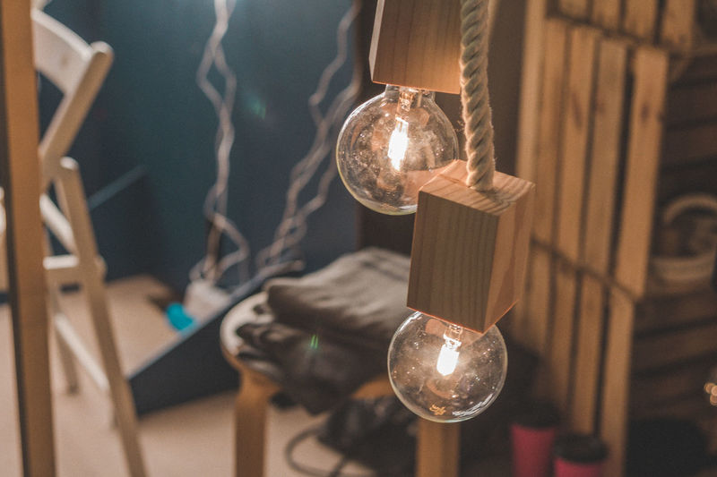Hanging No People Indoors  Illuminated Close-up Home Interior Time Night First Eyeem Photo Studio Technology Electricity  Furniture Design Illumination Interior Design Lamps And Lights. Eclectic Lamp Wood - Material Lighting Equipment Electricity  Light Bulb