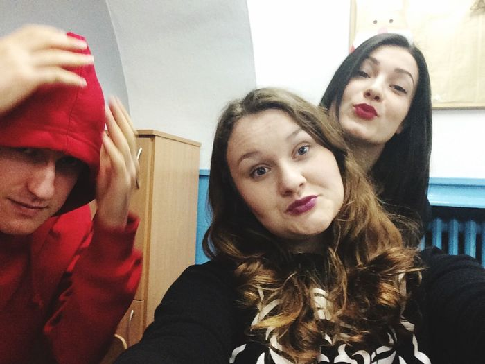 School My Mates... Love Them ❤ Crazy Yolo,bitch Too Fabulous To Celebrate My Bday One Day :)