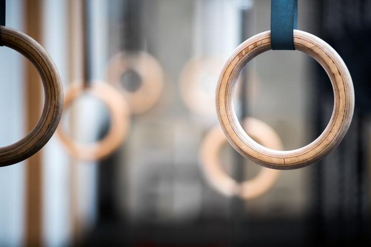 Close-up of handles