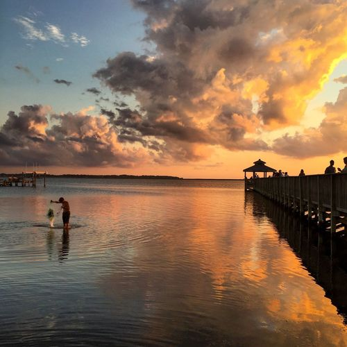 Check This Out Sunset Beach OBX Clouds And Sky Fishing Showcase July Hidden Gems