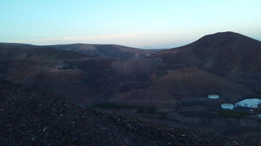 Canary Islands Evening Evening Light Evening Sky Fuerteventura Landscape Mountain Nature Sky
