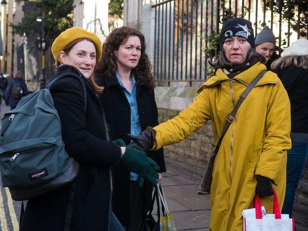 Three persons, three reactions - London, Dec 2017 EyeEmReady EyeEm Best Shots - The Streets