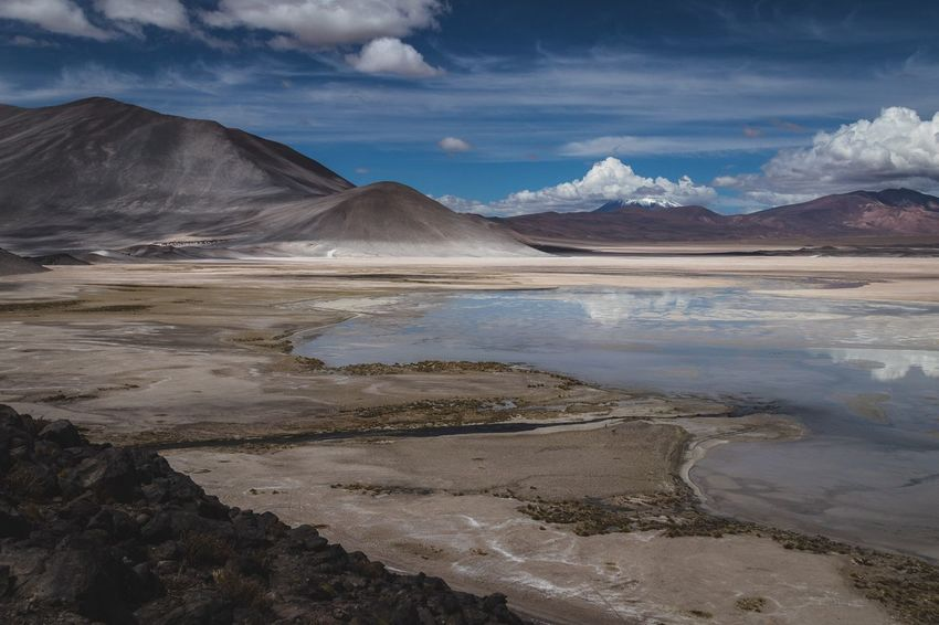 Chile 2018 Atacama Atacama / Chile 🇨🇱 Chile Atacama Desert Mountain Environment Scenics - Nature Landscape Cloud - Sky Sky Beauty In Nature Tranquility Salt Flat