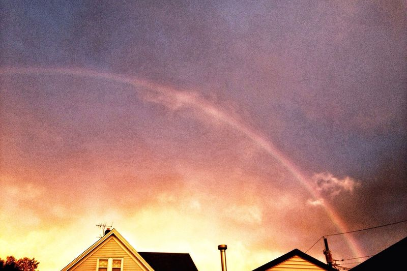 I caught a rainbow! NEM GoodKarma Ipmanifesto The View From My Window NEM Landscape