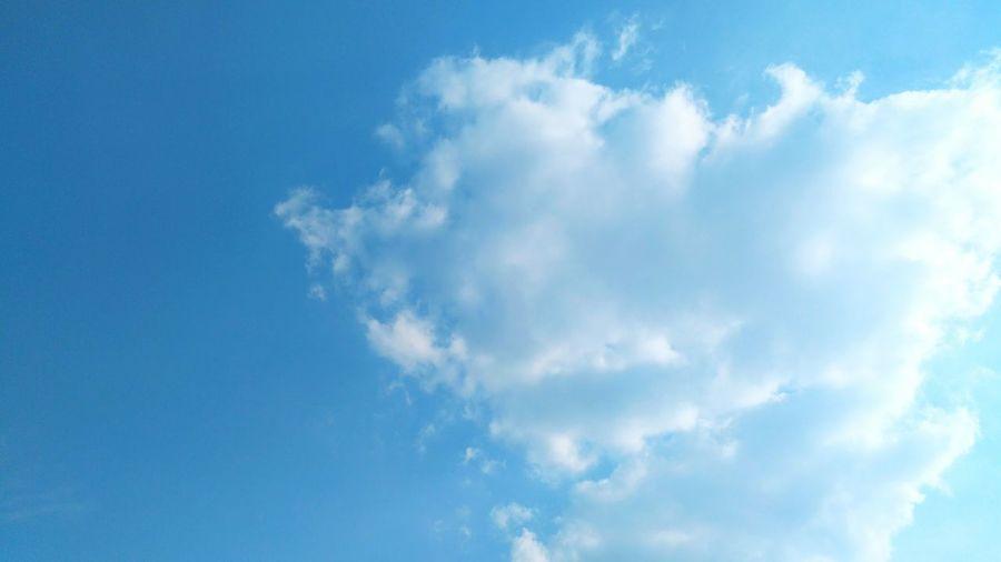 Clear sky.